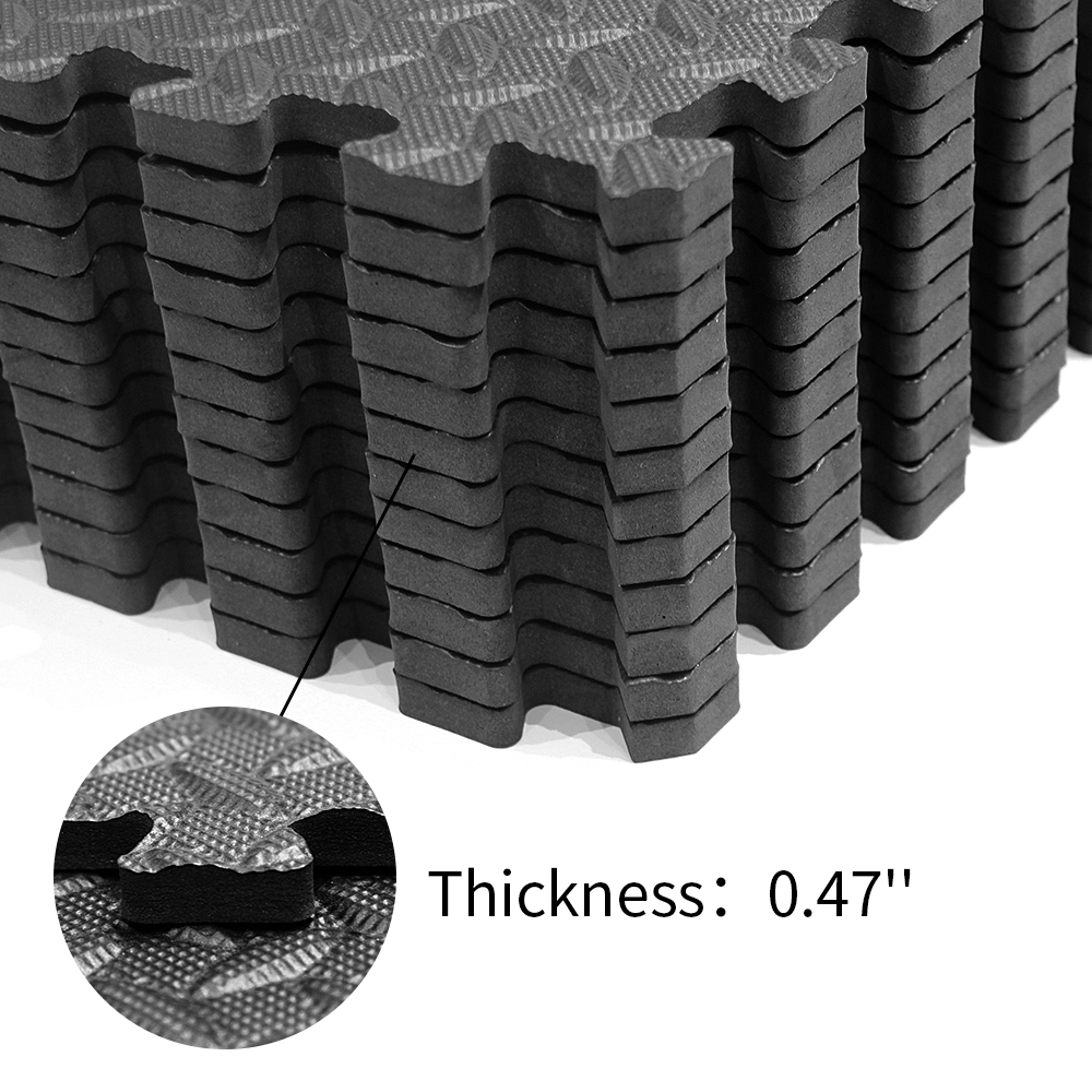 High Density Washable Eva Foam Non Slip Eva Sport Mat
